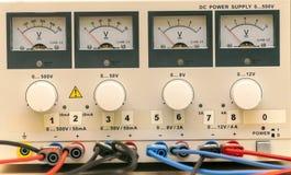 Apparat für das Messen der Energie Stockfotografie