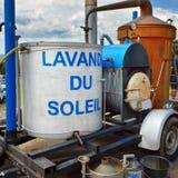 Apparat für Destillation Lizenzfreie Stockfotografie