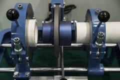 Apparat für Rohrleitungsrohre stockfotos