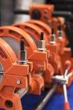 Apparat für Rohrleitungsrohre lizenzfreie stockfotografie