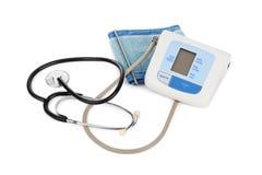Apparat für messenden Blutdruck Stockfoto