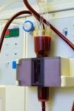 apparatdialysisläkarundersökning Royaltyfri Foto