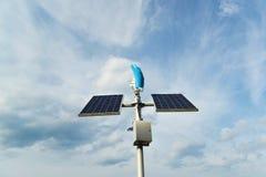 Apparaten voor de productie van natuurlijke elektriciteit stock foto's