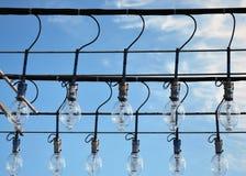 apparater som fiskar lightingschooneren Arkivfoton