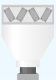 Apparato per i gas di raffreddamento e di condensazione Immagini Stock