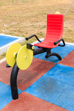 Apparatus for Exercise in the Park Stock Images
