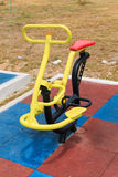 The Apparatus for Exercise in the Park Royalty Free Stock Image
