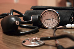 Apparatus for measuring blood pressure Stock Photo