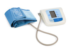 Apparatus for measuring blood pressure Stock Photos