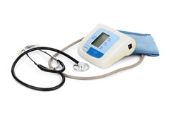 Apparatus for measuring blood pressure Royalty Free Stock Photo