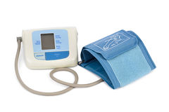 Apparatus for measuring blood pressure Royalty Free Stock Image