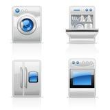 Apparecchi di cucina Fotografie Stock