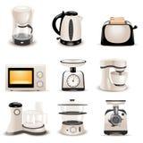 Apparecchi di cucina Fotografia Stock
