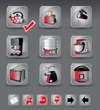 Apparecchi di cucina Fotografie Stock Libere da Diritti