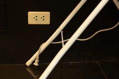 Apparecchi inutilizzati di disinserzione, risparmio energetico Fotografie Stock