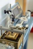 Apparecchiatura diretta del taglio dell'attrezzatura della prova di laboratorio Fotografia Stock Libera da Diritti