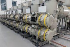 Apparecchiatura elettrica di comando isolata gas immagini stock