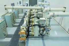 Apparecchiatura elettrica di comando isolata gas immagini stock libere da diritti