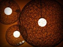 Appareil d'éclairage de trois cercles Photographie stock libre de droits