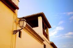 Appareil d'éclairage en Espagne Images libres de droits