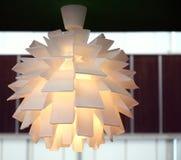 Appareil d'éclairage moderne Photographie stock