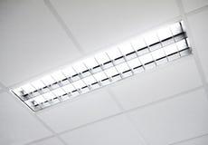 Appareil d'éclairage fluorescent Photos stock