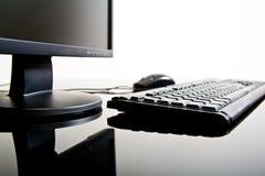 appareil de bureau d'ordinateur Photo libre de droits