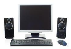 appareil de bureau d'ordinateur Photographie stock libre de droits