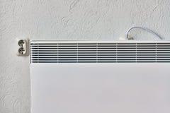 Appareil de chauffage domestique électrique images stock