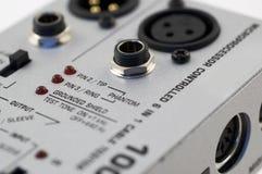 Appareil de contrôle sonore de fil Image libre de droits