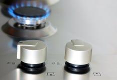 Appareil de cuisine de gaz naturel Photographie stock libre de droits