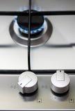 Appareil de cuisine de gaz naturel Image libre de droits