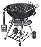 Appareil de gril de barbecue illustration de vecteur
