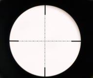 appareil optique de visée Photo libre de droits