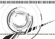 Appareil-photo abstrait illustration libre de droits