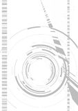 Appareil-photo abstrait illustration de vecteur