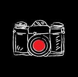 Appareil-photo antique de film Images libres de droits