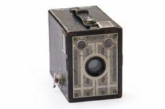 Appareil-photo antique de photo Photographie stock