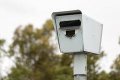 Appareil-photo australien de vitesse/appareil-photo de sécurité Photo libre de droits