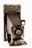 Appareil-photo compact de cru Images libres de droits
