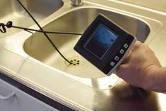 Appareil-photo d'inspection images stock
