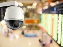 appareil-photo de caméra de sécurité ou de télévision en circuit fermé du rendu 3d Photo libre de droits