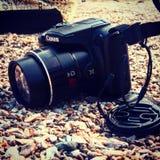 Appareil-photo de Canon pendant la vie Photos stock