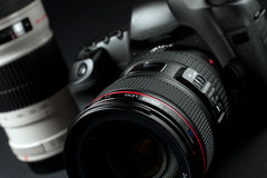 Appareil-photo de Digitals SLR Photographie stock