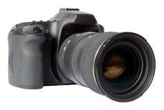 Appareil-photo de Digitals SLR photographie stock libre de droits