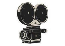Appareil-photo de film de cru Photographie stock