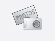 Appareil-photo de photo Photographie stock