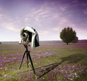 Appareil-photo de photographes Images stock