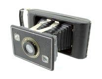 Appareil-photo de pliage de film de format de l'antiquité 620 images libres de droits