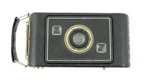 Appareil-photo de pliage moyen antique de film de format image libre de droits